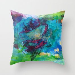 Life is a beautiful mess Throw Pillow