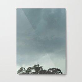 Aqua Sky Metal Print