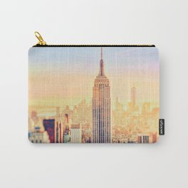 New York City Sunset Glow Carry-All Pouch
