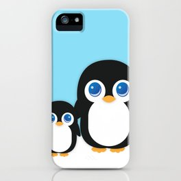 Adorable Penguins iPhone Case