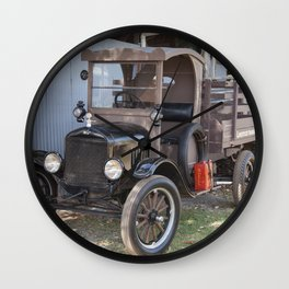 Old For Livestock Transport Wall Clock