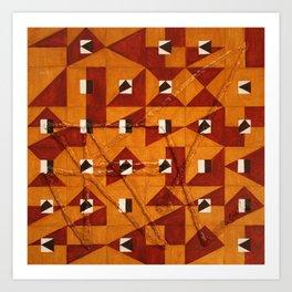 Magic Square #4 (With Sigil) Art Print