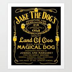 Jake the dog's Art Print