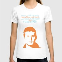 dean winchester T-shirts featuring Dean Winchester w/ quote by Jess Symons