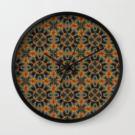 Tapestry pattern Wall Clock
