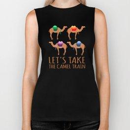 Let's take the Camel Train Biker Tank