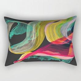 floating scarf Rectangular Pillow