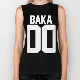 Team Baka Inspired Shirt Biker Tank