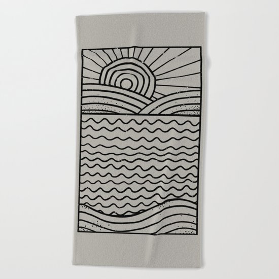 LandLines Beach Towel