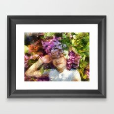 dreams about spring Framed Art Print
