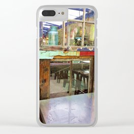 Crab Shack on Oregon Coast Clear iPhone Case