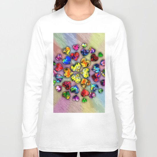 heart beat II Long Sleeve T-shirt
