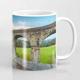Chirk Aqueduct And Viaduct Coffee Mug