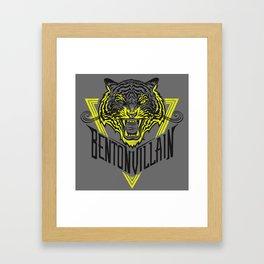 BENTONVILLAIN - one eye  Framed Art Print