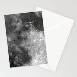 Black & White Moon Stationery Cards