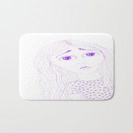 purple sadness2 Bath Mat