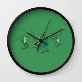 Yoshi Training Wall Clock