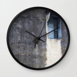 Lonely Window.  Wall Clock