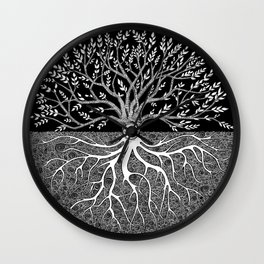Druid Tree of Life Wall Clock