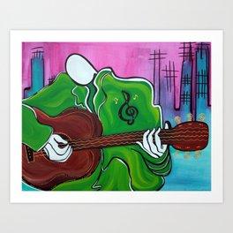 Music Man Art Print