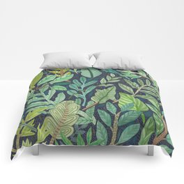 To The Forest Floor Comforters