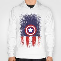 "steve rogers Hoodies featuring Captain ""Steve Rogers"" America by Some_Designs"