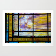 All The Colors Held Together Art Print
