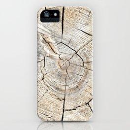 Wood Cut iPhone Case