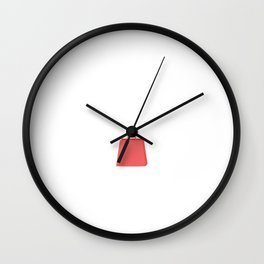 There's Always an Excuse for Shopping T-Shirt Wall Clock