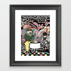 Crow Serie :: The Crow & The Fox (after Lafontaine's Fable) Framed Art Print