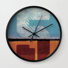 Fibonacci 5 Wall Clock