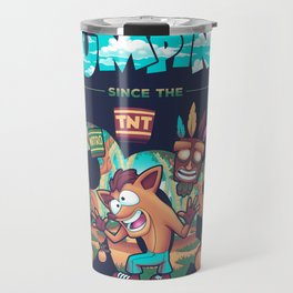 Jumping Since The 90s Travel Mug