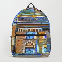 The Prospect Of Whitby Pub Pop Art Backpack