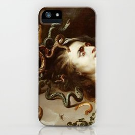 Peter Paul Rubens - The Head Of Medusa - Baroque Painting iPhone Case