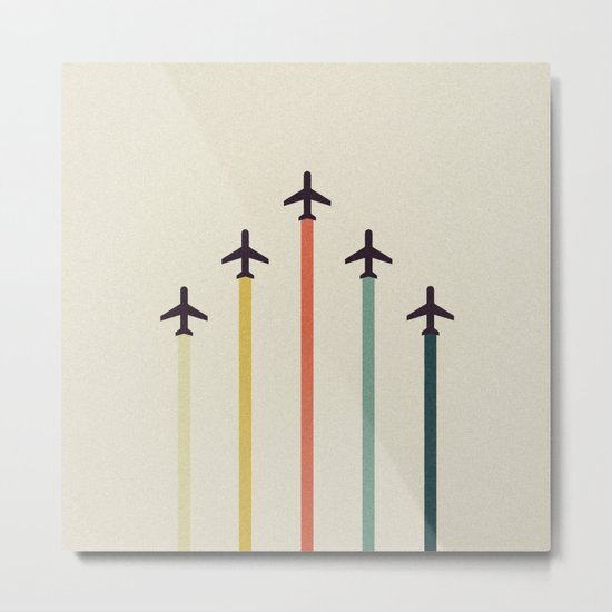 Airplanes Metal Print
