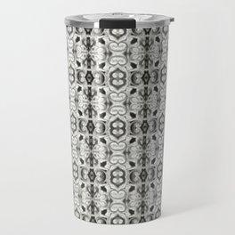 Pewter Gray Print Travel Mug