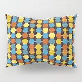 Cross Pattern Pillow Sham