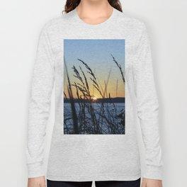 Sunset Sea Grass Long Sleeve T-shirt