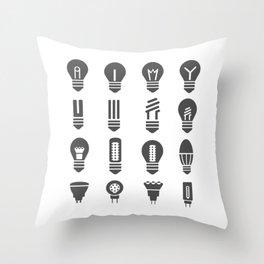 Set lamps Throw Pillow