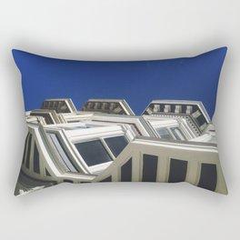 Sky Blue Rectangular Pillow