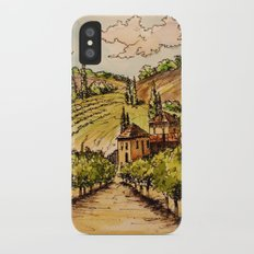 French Countryside iPhone X Slim Case