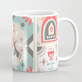 Custom Beautiful Multicolor Hanukkah Holiday Pattern Coffee Mug
