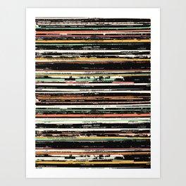 Recordsss Art Print