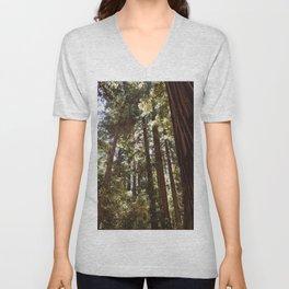 Redwood Forest XII Unisex V-Neck