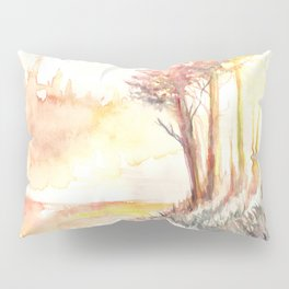 Watercolor Landscape 03 Pillow Sham