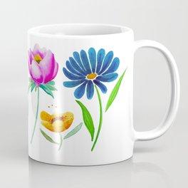 Watercolor Florals Coffee Mug