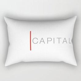 axe capital logo-_victorized Rectangular Pillow