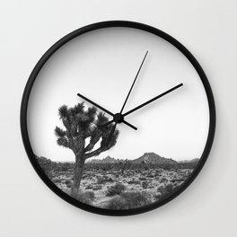 JOSHUA TREE / California Desert Wall Clock