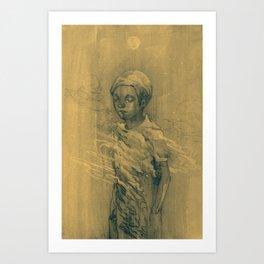Alone2 Art Print
