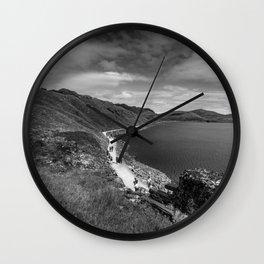 Miners' Trail Wall Clock